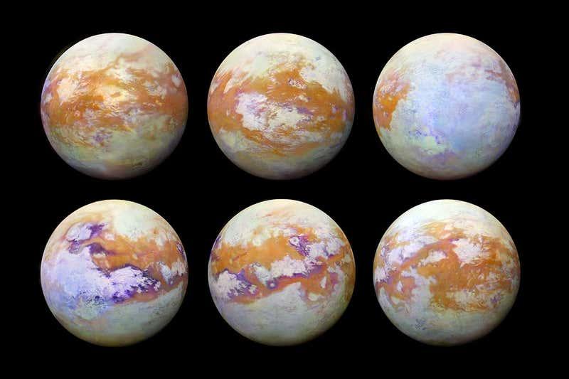 Investigadores muestran el primer mapa completo de las características extrañas de la superficie de Titán