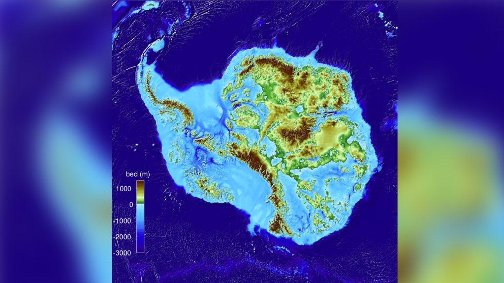 Científicos encuentran el terreno más profundo de la Tierra bajo el hielo de la Antártida