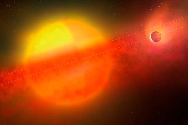 Encontrados seis exoplanetas cuya temperatura sobrepasa los 1100 ° C