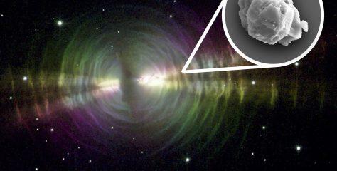 Encontrado el material más antiguo de la Tierra: un polvo estelar de 7 mil millones de años