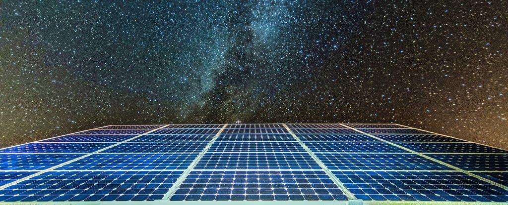 Una nueva investigación explica cómo los paneles solares pronto podrían generar energía por la noche