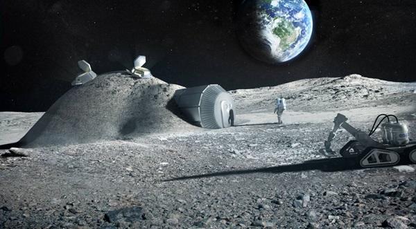 La orina de astronautas podría ayudar a construir bases lunares