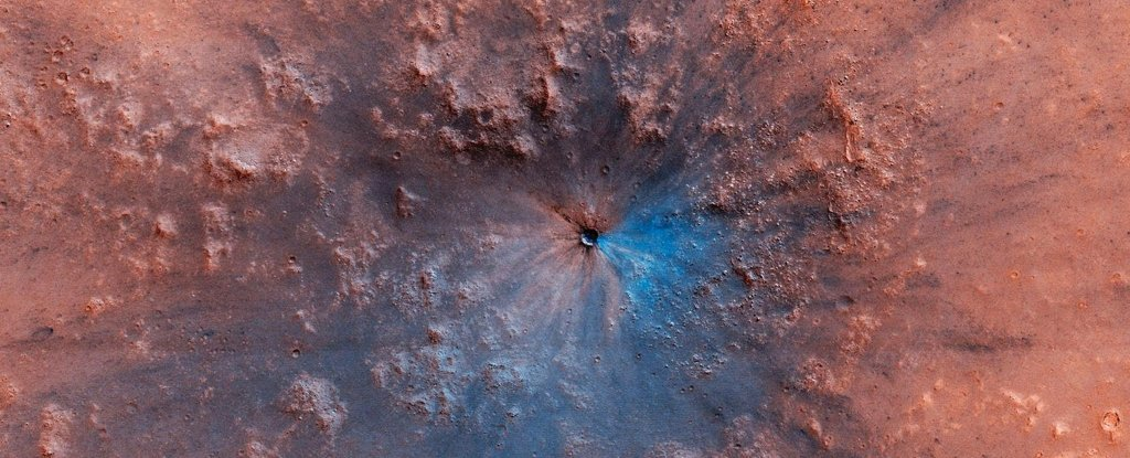 Marte podría tener al menos dos antiguos depósitos de agua bajo su superficie
