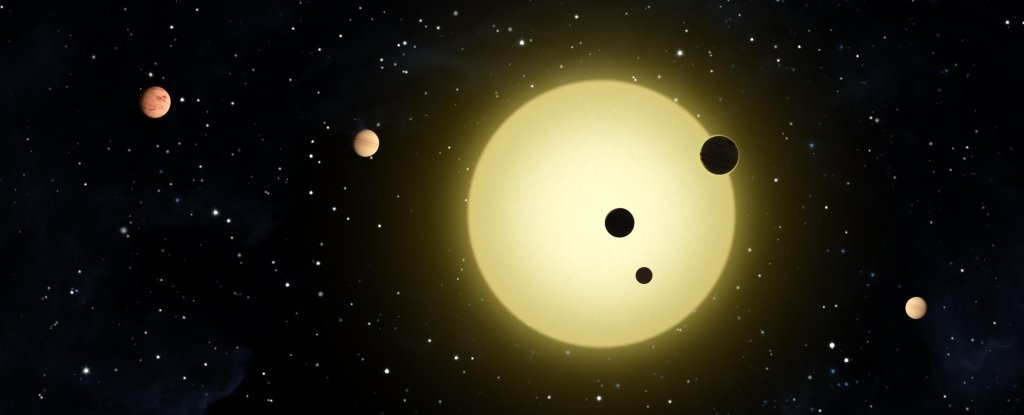 Astrónomos encuentran un hermoso sistema de seis planetas con una armonía orbital casi perfecta