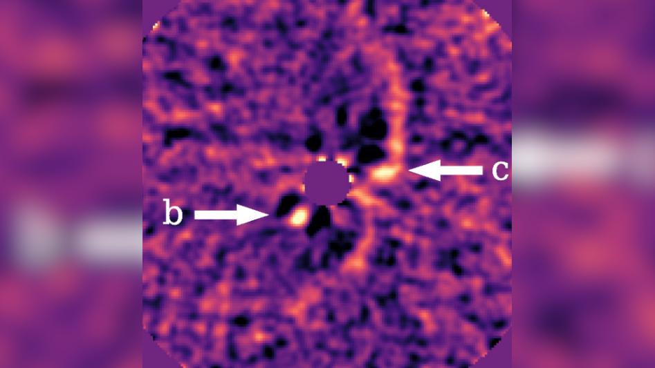 Astrónomos confirman a través de imágenes el nacimiento de dos planetas gigantes