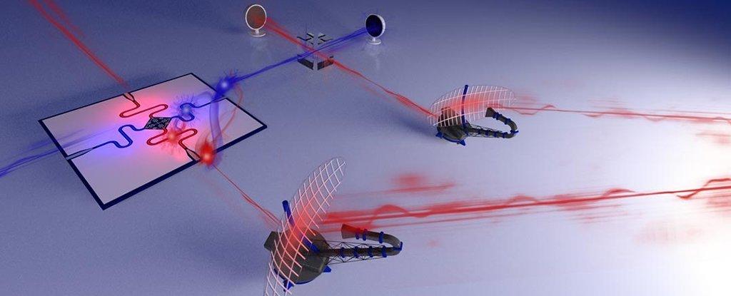 Físicos acaban de construir el primer prototipo funcional de un 'radar cuántico'
