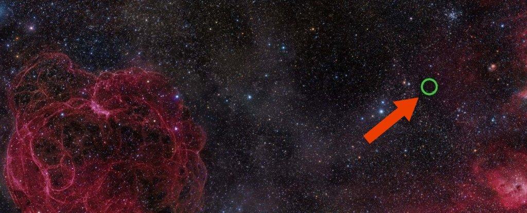 Un patrón en el espacio se viene repitiendo cada 157 días
