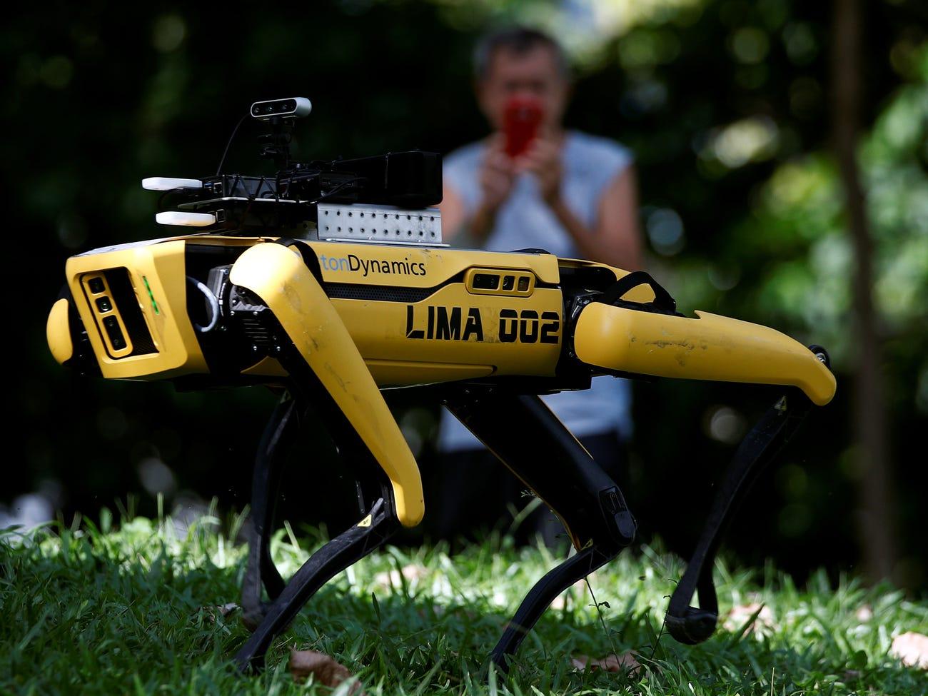 Ya es posible adquirir el robot cuadrúpedo de Boston Dynamics