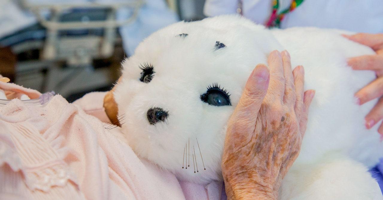 Confirmado: acariciar focas robots bebés aumenta la felicidad