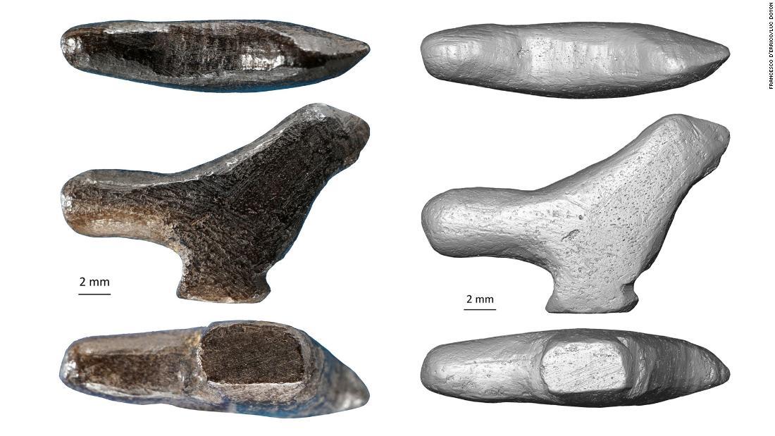 Un gorrión tallado en hueso es la escultura más antigua en China