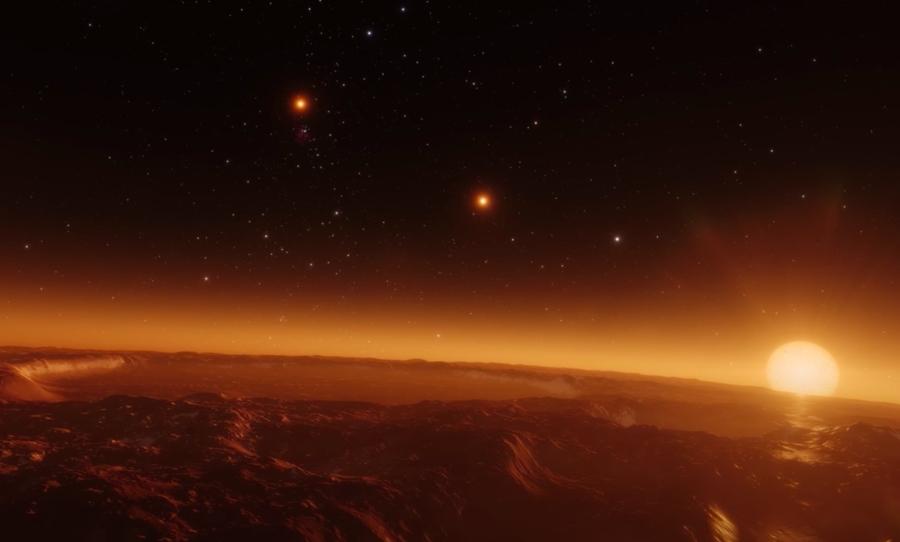 Así serían los atardeceres en diferentes planetas según la NASA