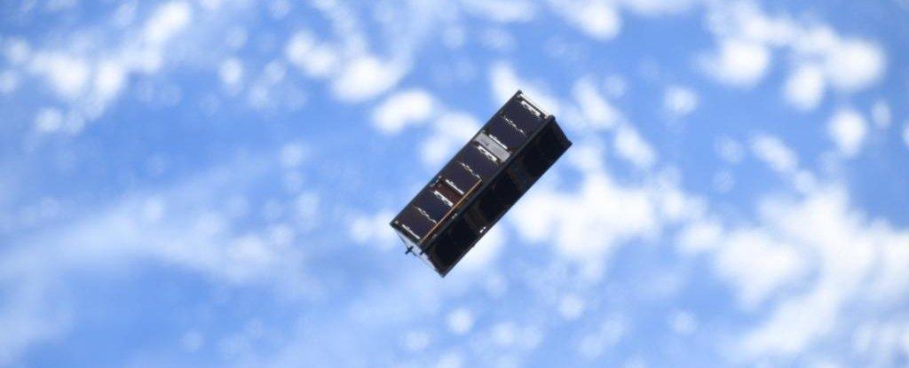 Científicos han demostrado el entrelazamiento cuántico en un pequeño satélite