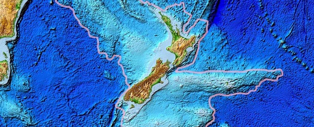Nuevos mapas revelan el continente perdido de Zelandia con sorprendente detalle