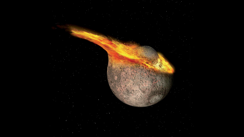 La Luna es 85 millones de años más joven de lo que creíamos