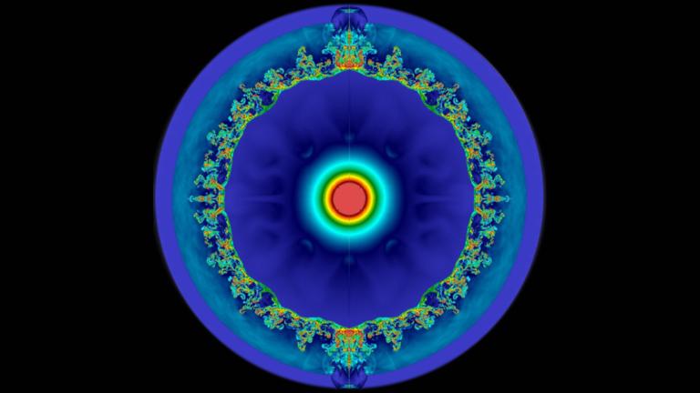 Hipernova: científicos simulan una gigantezca explosión con ayuda de una supercomputadora