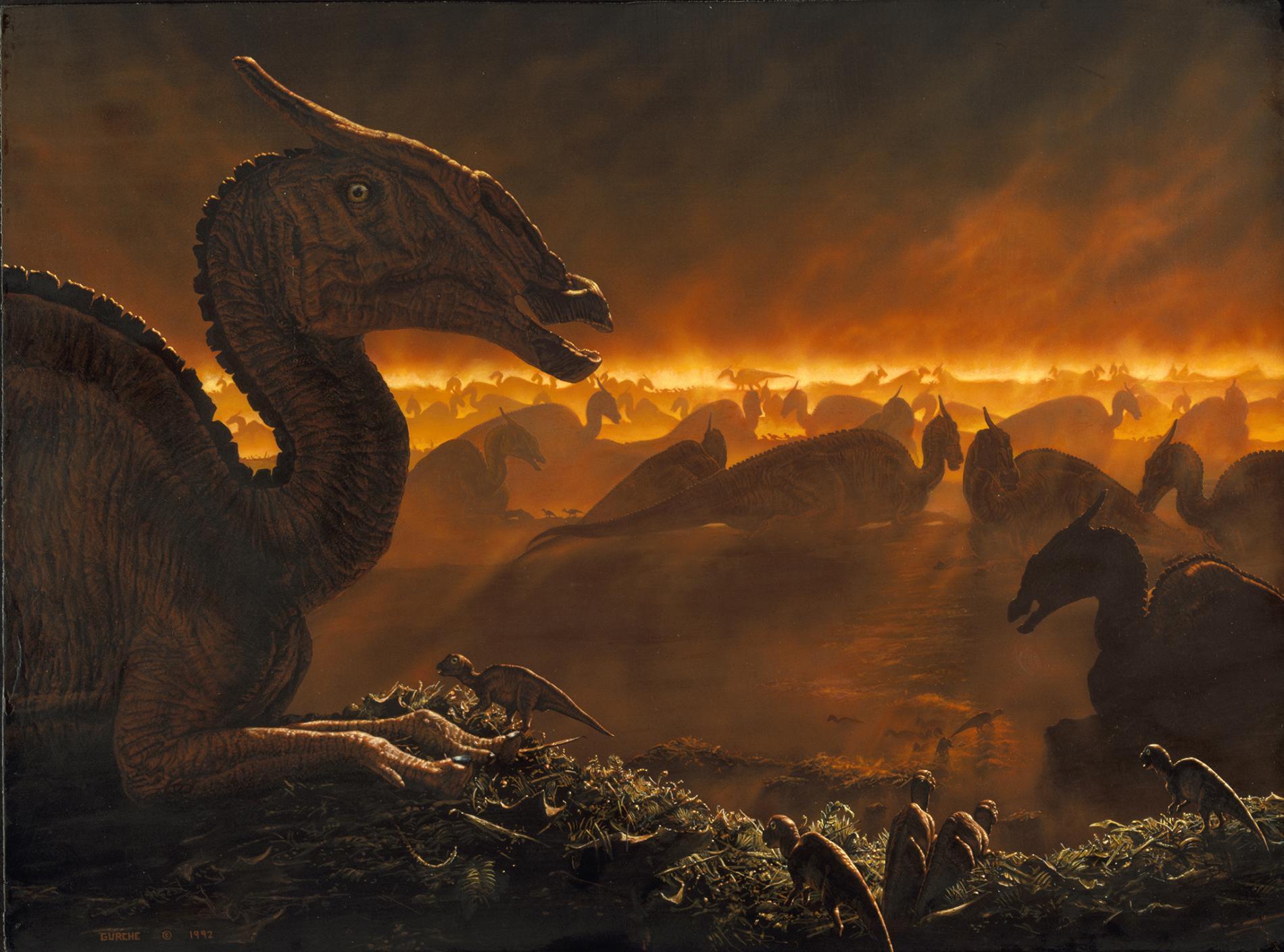 Los volcanes no mataron a los dinosaurios, más bien ayudaron a dar nueva vida