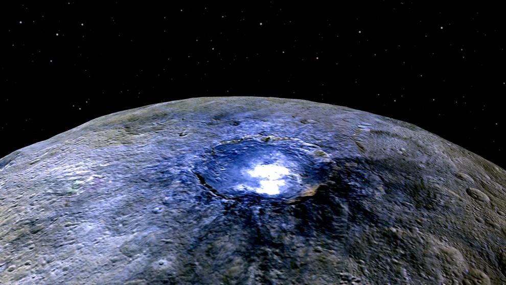 Ceres podría ser un planeta oceánico y hasta con actividad geológica