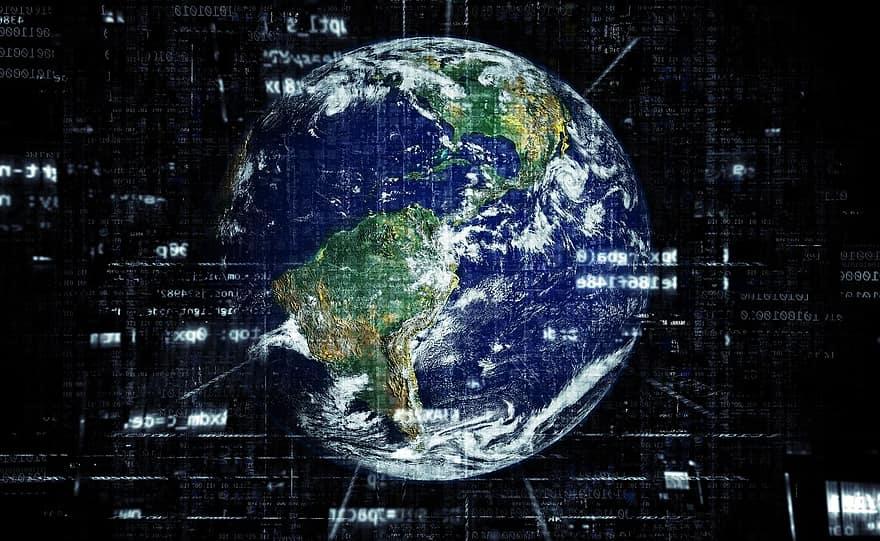 """""""La Catástrofe de la Información"""": estudio sugiere que se producirán más bits en un año que el número de átomos en la Tierra"""