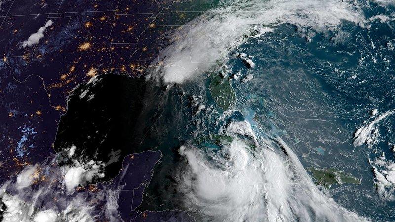 El Golfo de México casi es azotado por dos huracanes al mismo tiempo