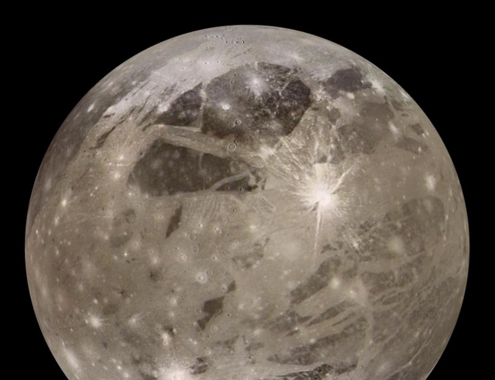 Ganímedes podría albergar la estructura de impacto más grande del sistema solar