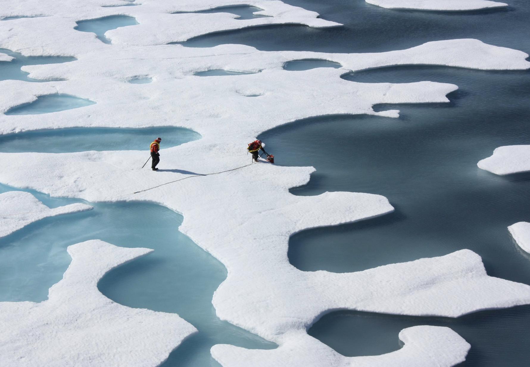 El hielo marino del Ártico desaparecería en cada verano desde el 2035