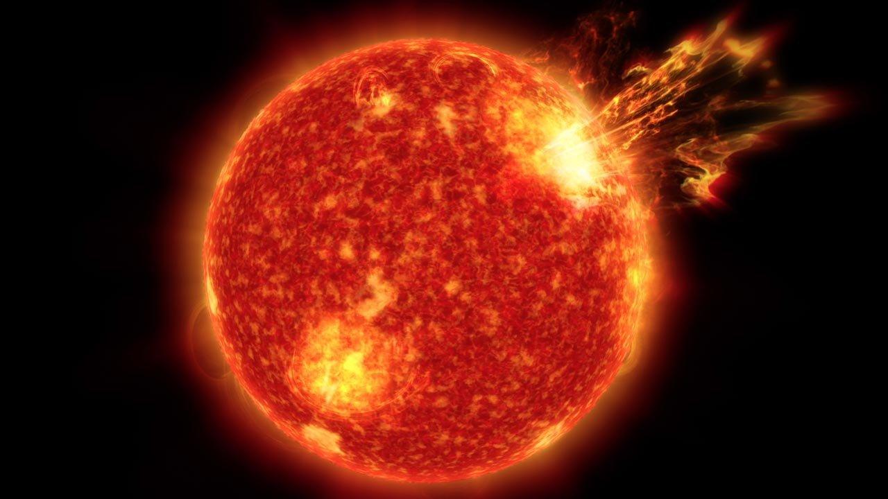 Este es el 'motor central' que alimenta a las erupciones solares