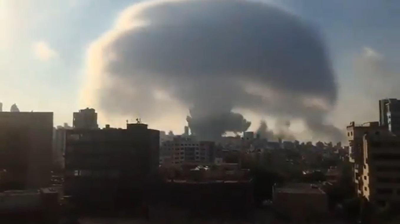 ¿Por qué pareció una explosión nuclear el accidente de Beirut?