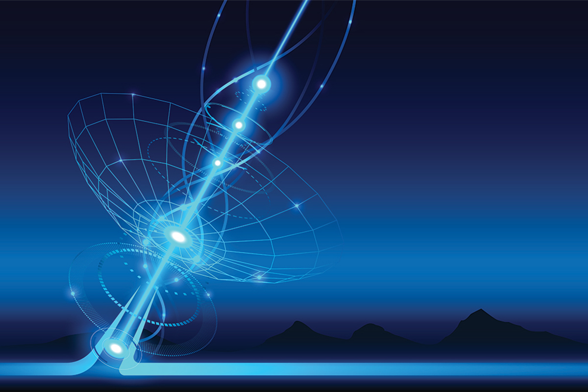 Nuevo rayo láser desafía las leyes físicas de refracción