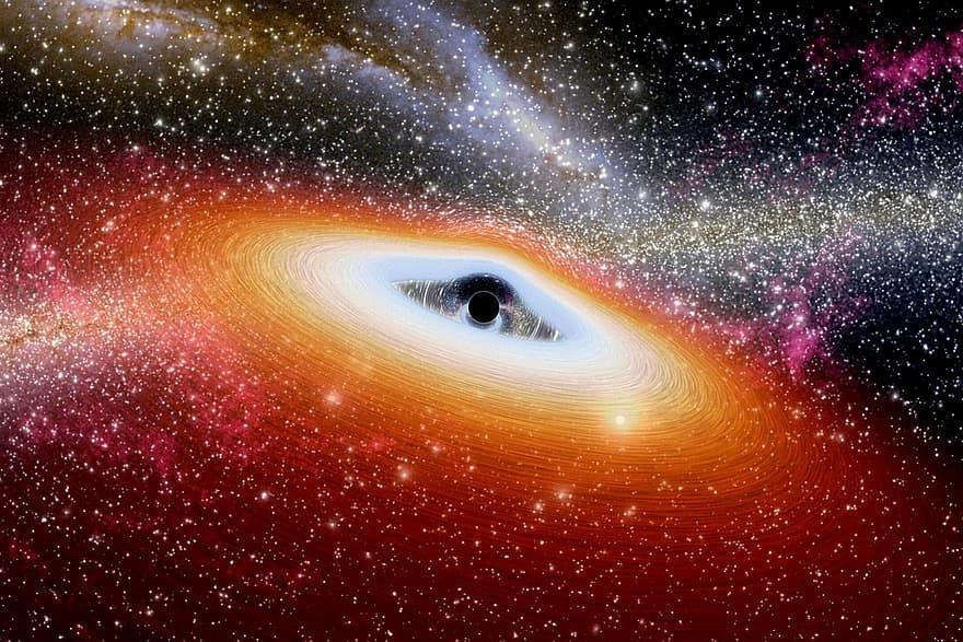 Blanets: ¿Cómo se forman los planetas que orbitan agujeros negros supermasivos?