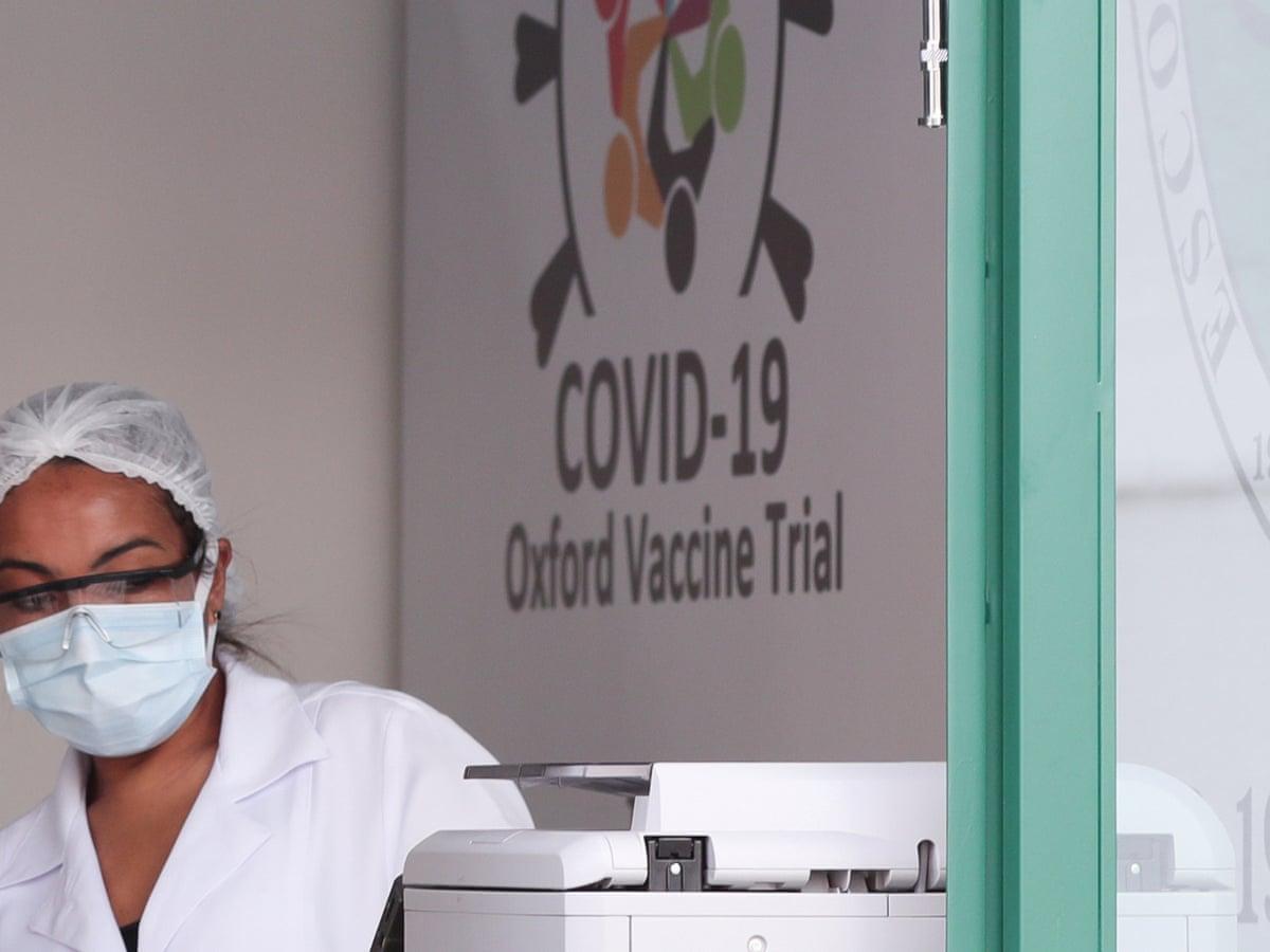 Las pruebas en la vacuna de Oxford se detuvieron luego de que un participante se enfermara