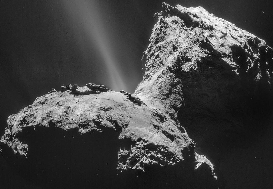 Astrónomos detectan por primera vez una aurora alrededor de un cometa
