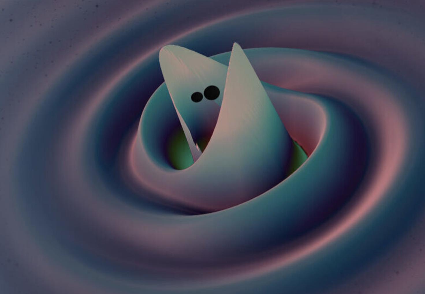 La más masiva detección de ondas gravitacionales revela que existen agujeros negros de masa intermedia