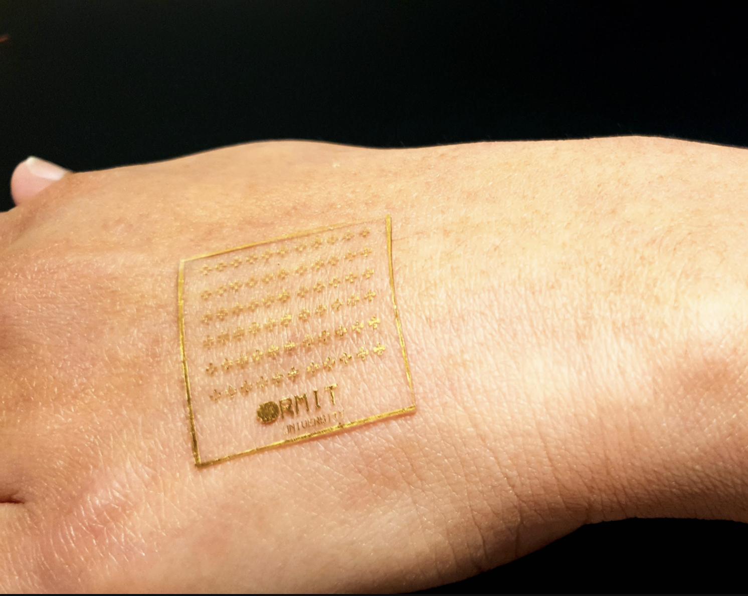 La piel artificial electrónica ahora reacciona al dolor, como la piel real