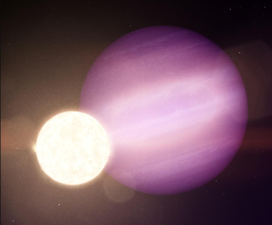Encuentran el primer posible planeta gigante 'superviviente' a la muerte de su estrella
