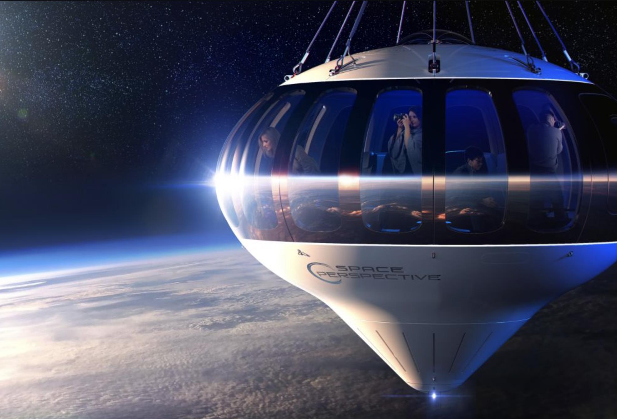 Miembros de un club vacacional exclusivo serán los primeros en viajar a la estratósfera