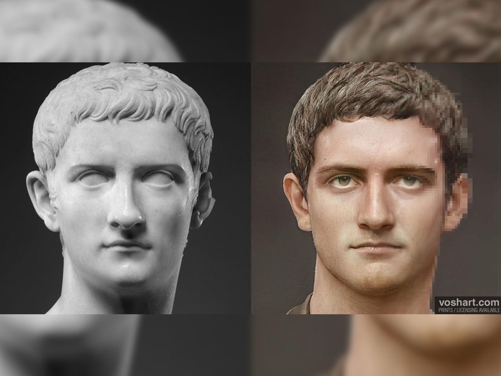 Inteligencia Artificial 'revive' a 54 antiguos emperadores romanos en imágenes bastante realistas