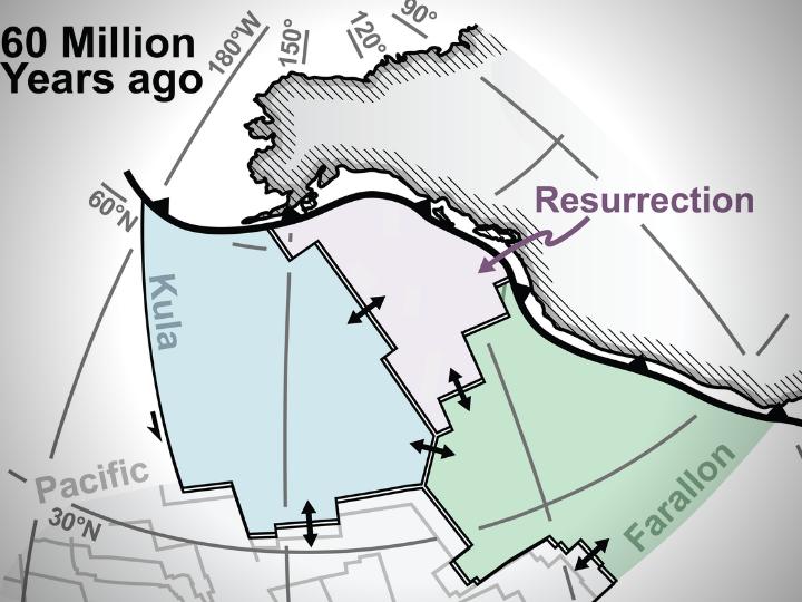 """Geólogos """"resucitan"""" una placa tectónica que se consideraba perdida"""