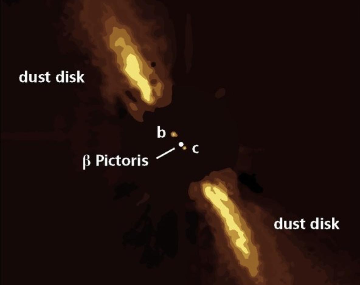 Realizan la primera observación directa de un exoplaneta a 63 años luz de distancia