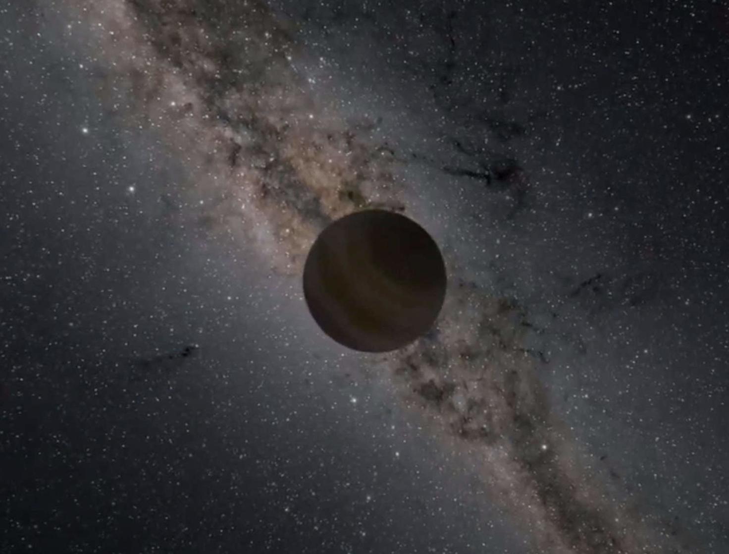 Astrónomos encuentran un candidato a planeta errante flotando libremente en la Vía Láctea