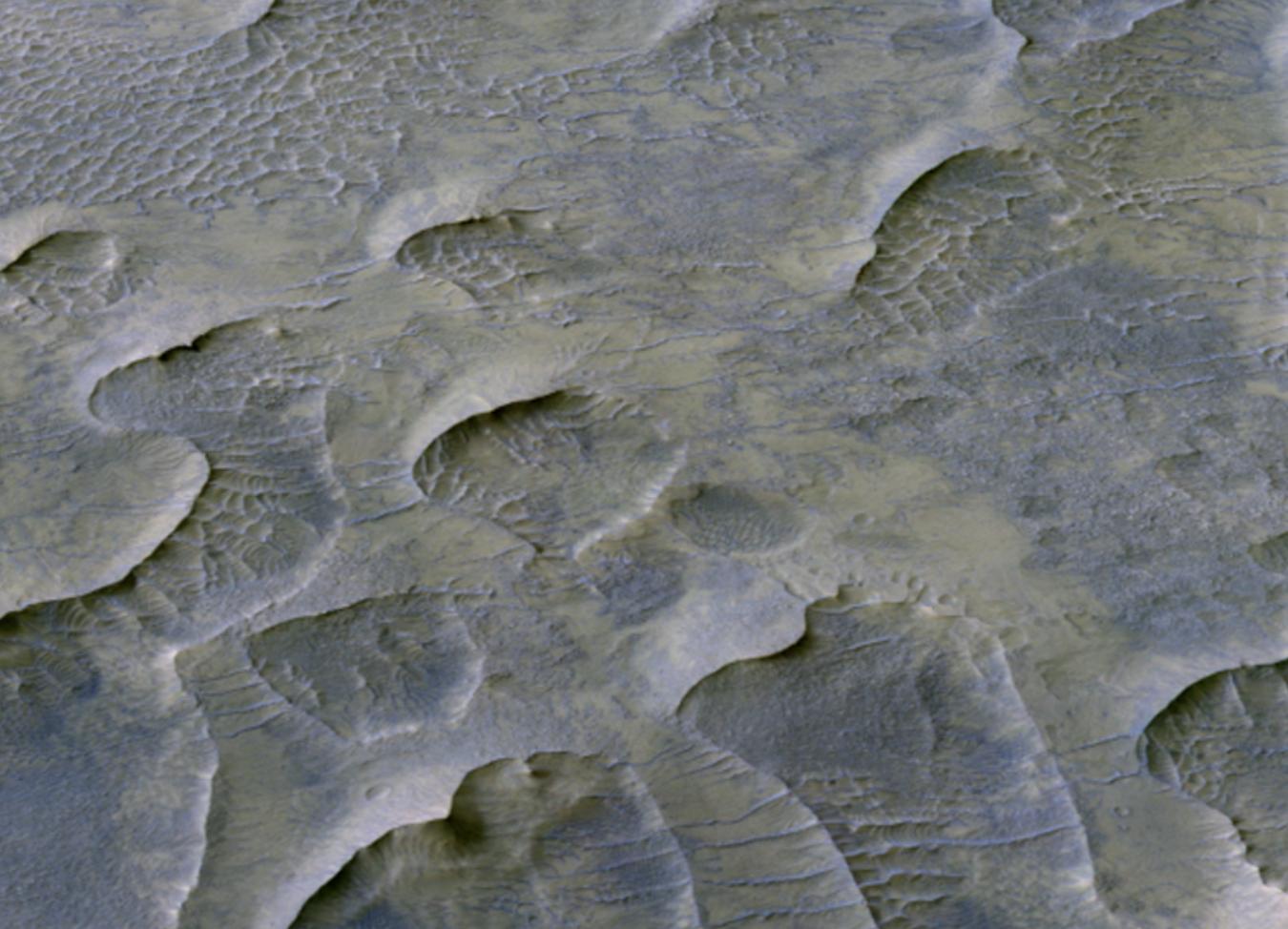 NASA encuentra dunas de arena sólida en Marte conservadas por mil millones de años