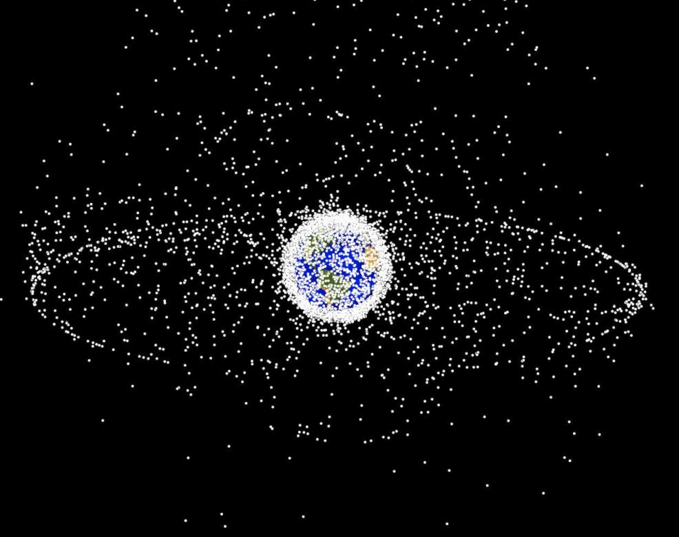 ¿Explosiones en órbita? Esto es lo más peligroso de la basura espacial
