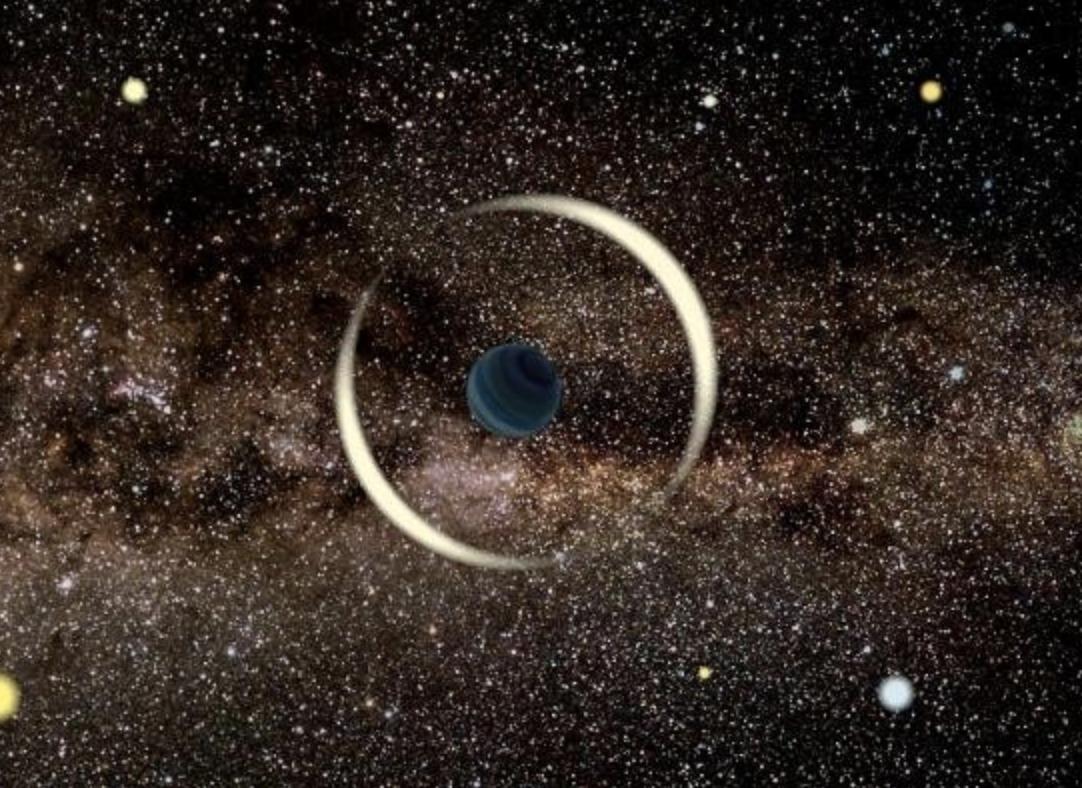 Descubren un candidato a planeta errante del tamaño de la Tierra viajando libremente en la galaxia