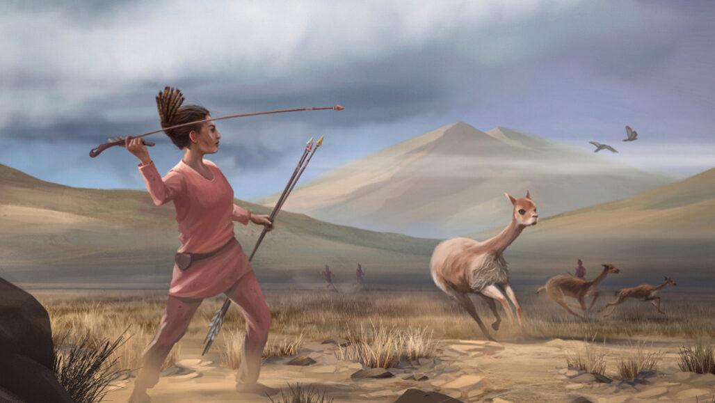 Restos antiguos encontrados en Perú se suman a la evidencia de que existían mujeres cazadoras