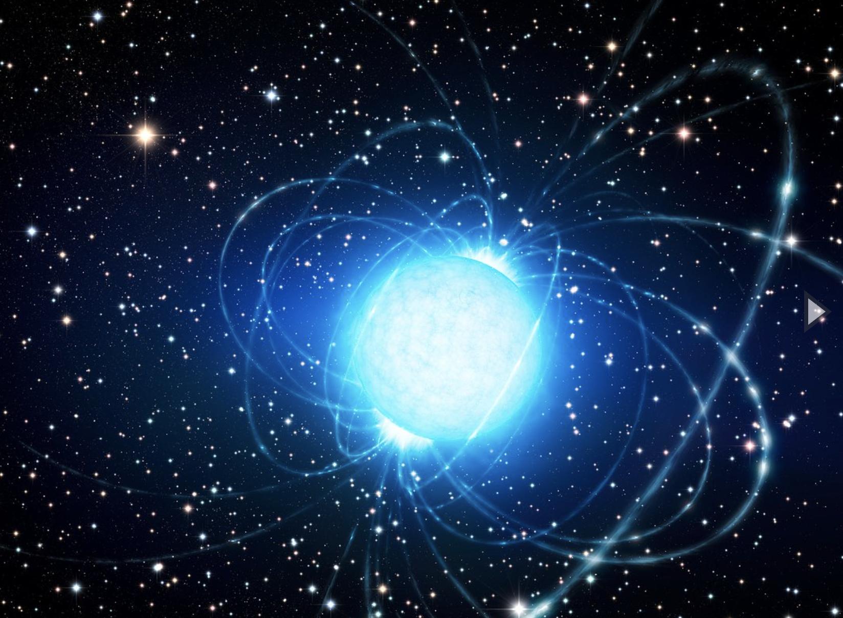 Detectan ráfagas rápidas de radio en nuestra propia galaxia
