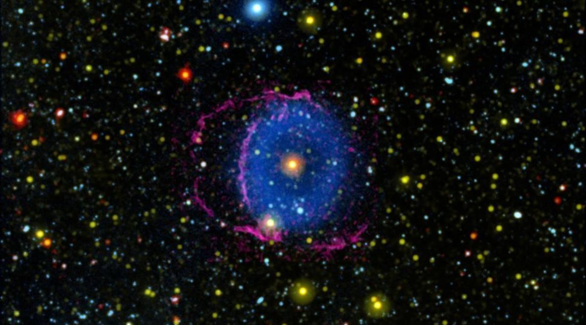 Astrónomos resuelven el misterio de la deslumbrante Nebulosa del Anillo Azul