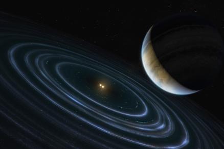 Este exoplaneta podría tener una órbita similar a la del hipotético Planeta Nueve