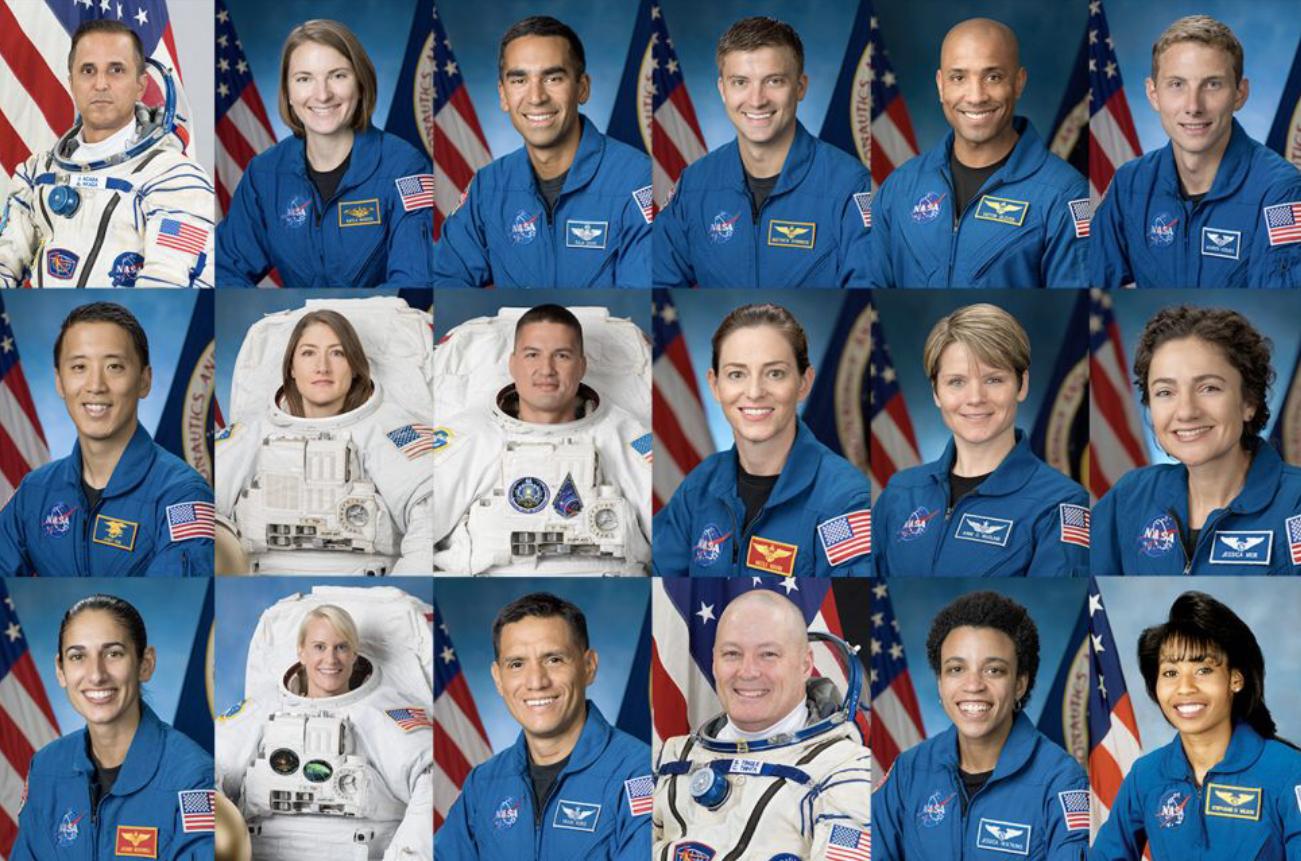 La NASA presenta a los 18 astronautas de la misión Artemis la cual llevará humanos de vuelta a la Luna