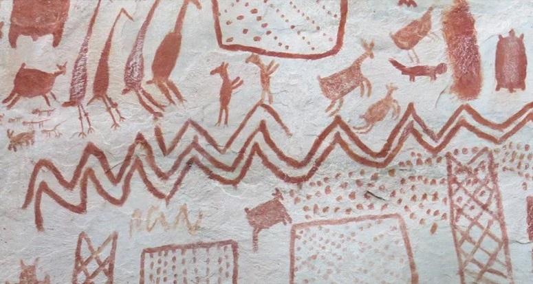 «Capilla Sixtina de la Amazonía»: Investigadores encuentran miles de dibujos de arte rupestre en la selva colombiana