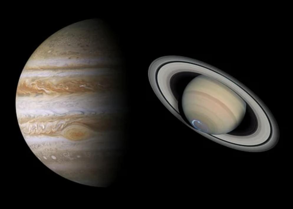 La conjunción de Saturno y Júpiter cautivó al mundo entero