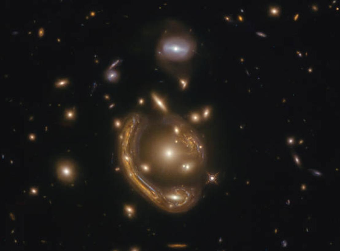 Conoce a uno de los Anillos de Einstein más completos que hemos descubierto en el Universo